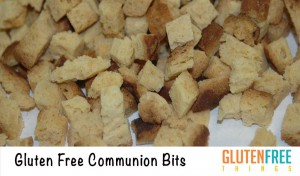 Gluten Free Vegan Communion Bits – Made in a Dedicated Gluten Free Facility.  Safe for Celiacs!