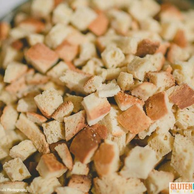 Gluten Free Things Croutons for Salad and Soups or just eat as a snack.