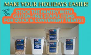 Stock Your Pantry with Convenient Staples for your Gluten Free Holidays