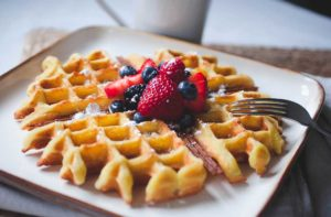 Easy Gluten-Free Vegan Waffles Recipe Using Gluten Free Things Brand Waffle & Pancake Mix