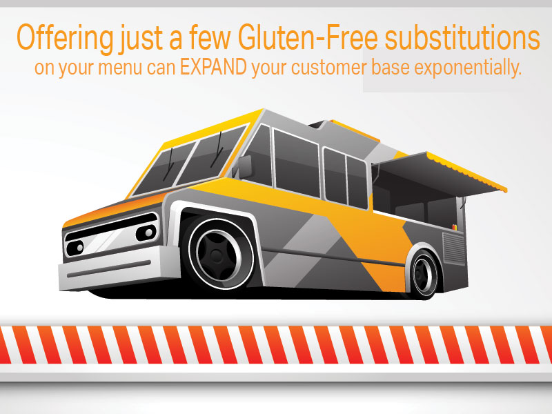 Increase your consumer base with a few gluten-free options