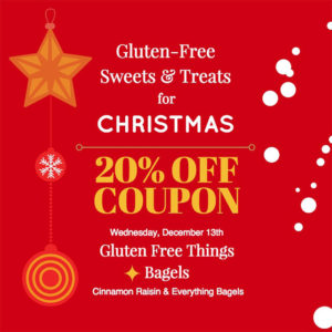 Day 2 of our Gluten Free Sweets & Treats Promotion for the Holidays