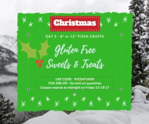 DAY 3 Gluten Free Sweets & Treats Promotion for the Holidays!