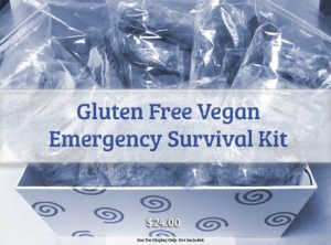Prepare Yourself with the Gluten Free Vegan Emergency Survival Kit