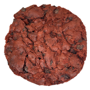 Red Velvet Chocolate Chip Cookie- Gluten Free Vegan